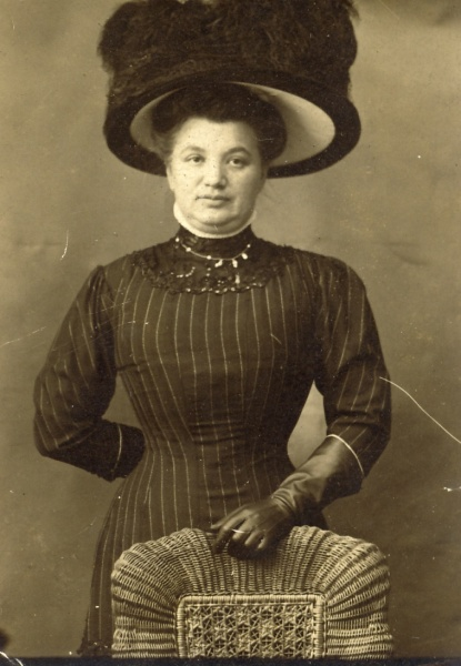 "My great-great grandmother, Franziska ""Fanny"" Spielmann, year and photographer unknown."