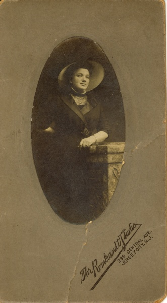 My great-great-grandmother Fanny Spielmann, year and photographer unknown.