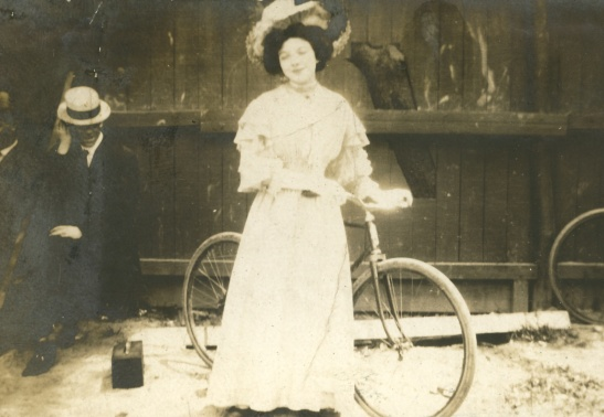 My great-grandmother Margaret, year unknown. Photographer unknown.