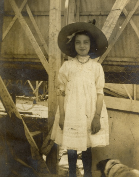 Lilly at Coney Island, May 29, 1910. Photographer unknown.