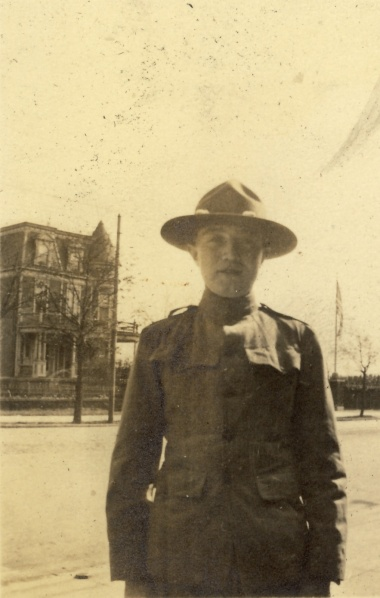 Ernst in his army uniform, date and photographer unknown.