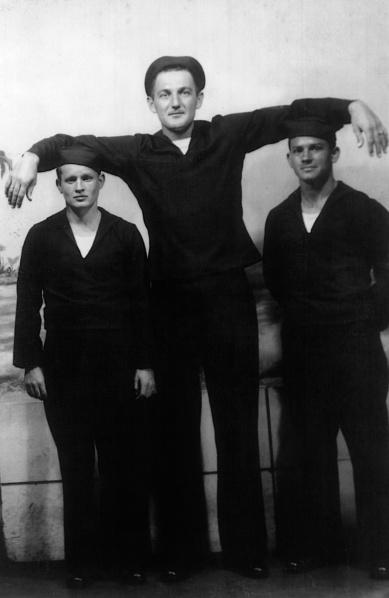 Pop Jim was tall.
