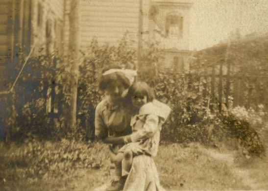 "The back of the photograph says, ""Margaret and Erwin, Aug 7,"" but the year and photographer are unknown. This is such a sweet picture."