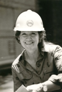My mom, Susan Lessiack Stabler, a 3rd-generation Panama Canal employee.