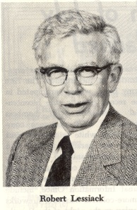 Robert Lessiack, as published in The Spillway on the occasion of his retirement.