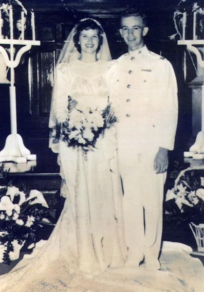 Katherine Adams and Robert Lessiack