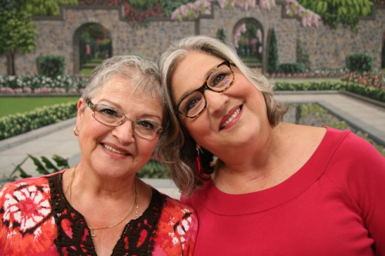 Liliana and Pauline, the talent behind Radici Siciliane. Photo by me, 2014.