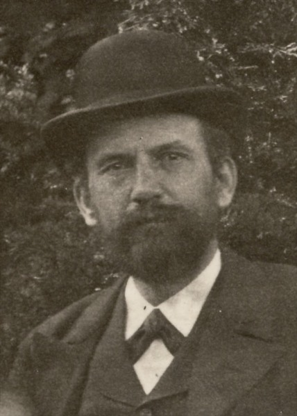 Anton Ludwig Lessiack, born Feb 10, 1866 in Steiermark. Date and photographer unknown.