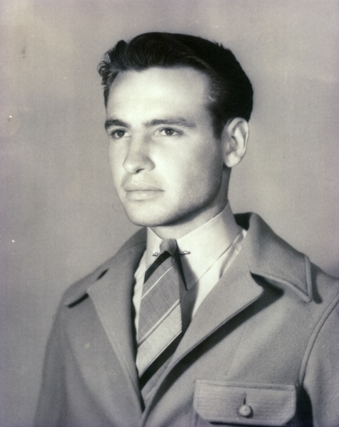 Great-Uncle Ted Marak. Isn't he a handsome devil?
