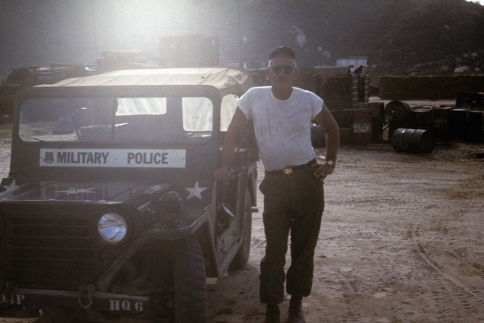 Here is Bob Robertson many years later in Vietnam.
