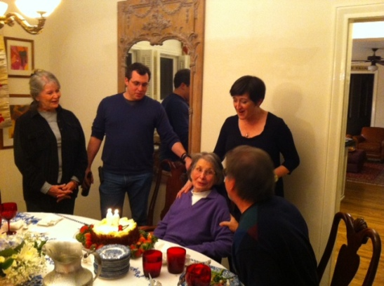 Happy birthday to Gram!