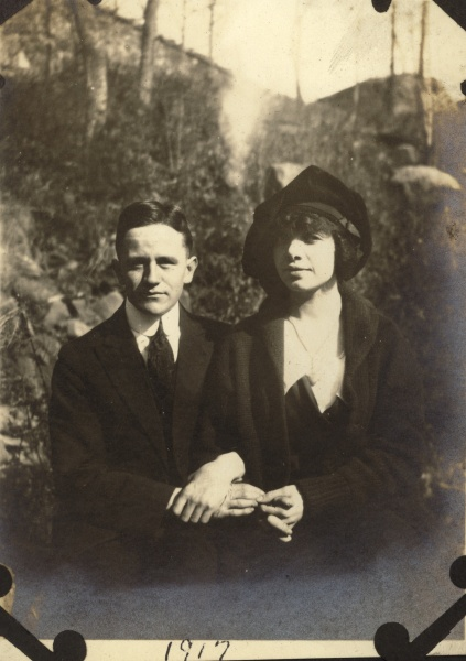 Leo and Margaret, date unknkown.