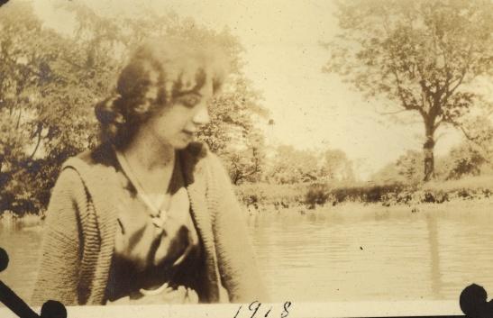 """""""June, 1918, River Edge, NJ"""""""