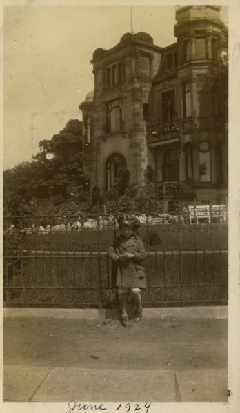 Near Uhlenhorster Farhaus, June 1924