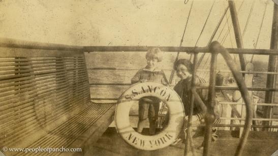 On SS Ancon, Jan. 1926