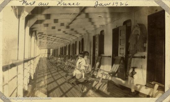 Port Au Prince, Jan 1926