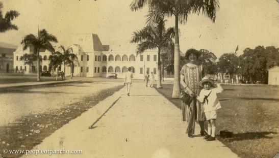Haiti, Jan. 1926, Street of National Palace