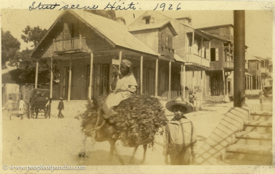 Street scene Haiti, 1926