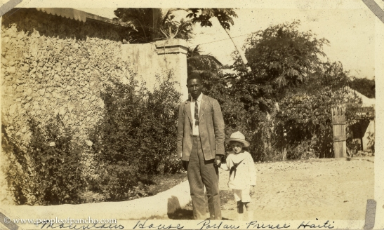 Mountain House, Jan. 19 1926, Port au Prince, Haiti