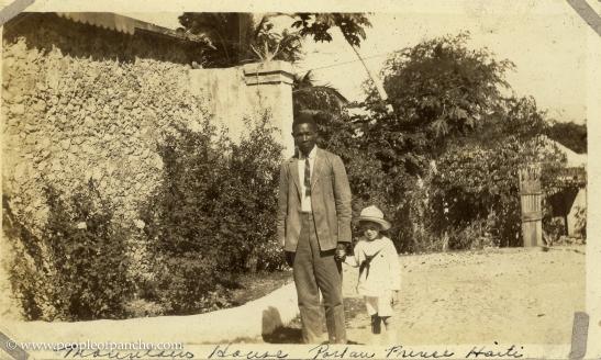Mountain House, Jan. 19 1926, Port au Prince, Haiti