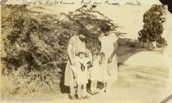 Road to Lighthouse, Port au Prince, Haiti, Jan. 1926