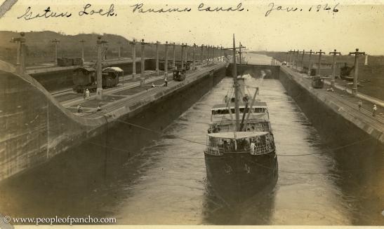Panama Canal, Jan. 1926