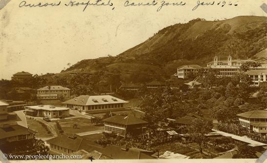Ancon Hospital, Canal Zone, Jan. 1926