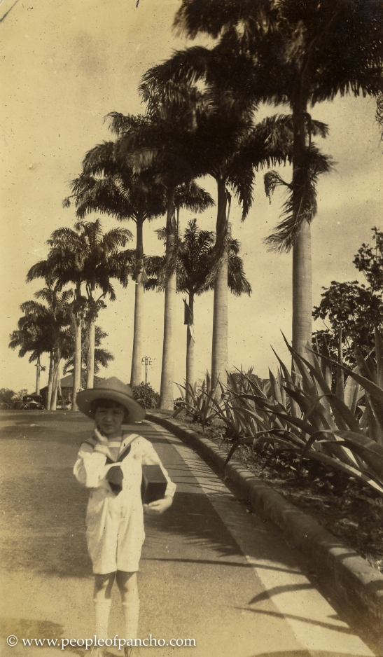 Driveway Tivoli Hotel, Ancon, Canal Zone, Jan. 1926
