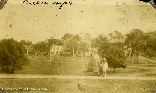 Balboa Heights, Canal Zone, Jan. 1926