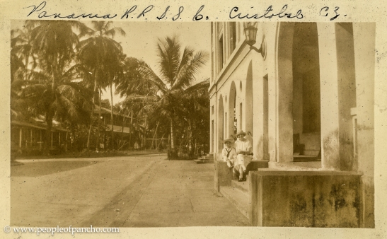 Panama Railroad, Cristobal CA, 1926