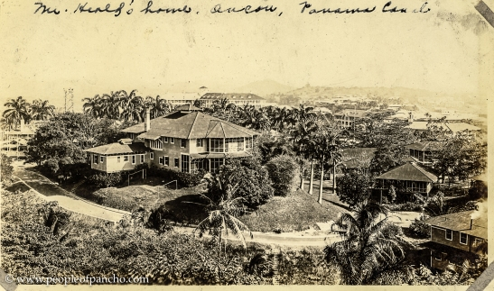 Mr. Heald's house, Ancon, Panama Canal, 1926
