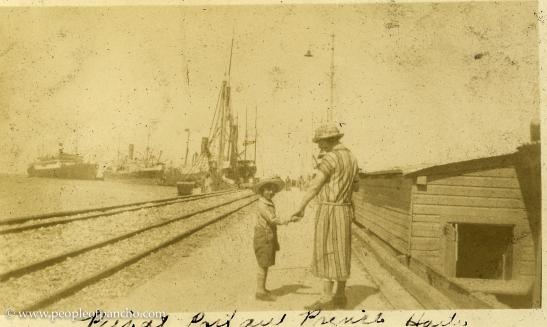 Pier at Port au Prince, 1926